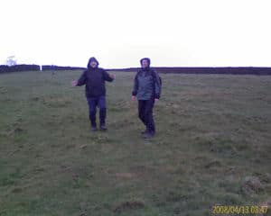 duncan and phil picture taken with new mobile phone- mw11